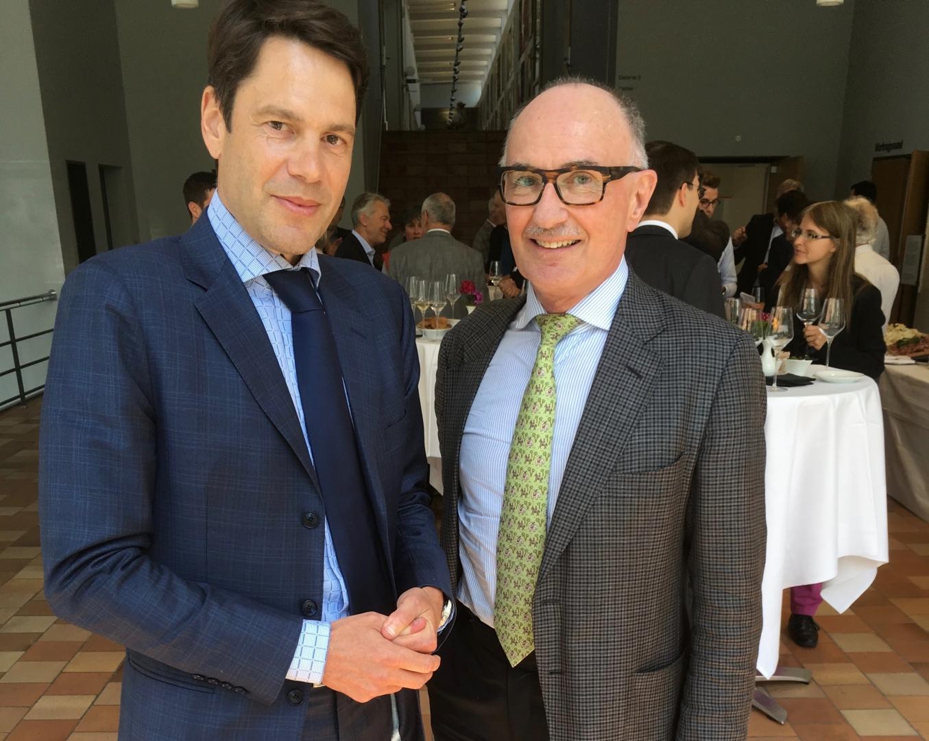 Stefan Brupbacher im Gespräch mit Felix Gutzwiller und weiteren Nationalratskandidaten zum Thema moderne Kampagnenführung